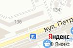 Схема проезда до компании Вискарик в Донецке