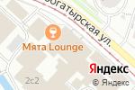 Схема проезда до компании Серебряный бульвар в Москве