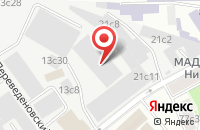 Схема проезда до компании Локид Премиум в Москве