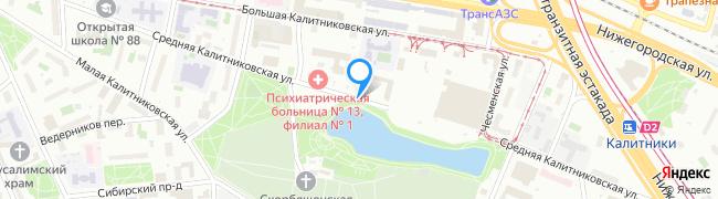 Средняя Калитниковская улица