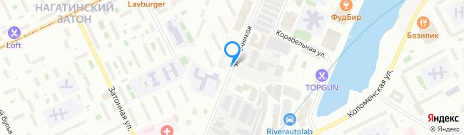 улица Речников