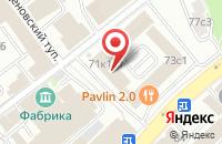 Схема проезда до компании Файн Лайф Медиа в Москве