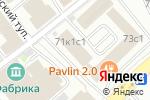 Схема проезда до компании Любимая ДАЧА в Москве