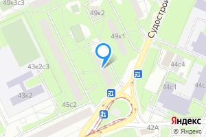 Сдается комната в двухкомнатной квартире в Москве м. Коломенская, Судостроительная улица, 47