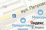 Схема проезда до компании Магазин домашнего текстиля в Донецке