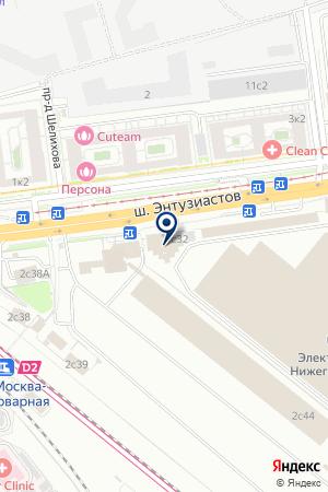 ДК ВАГОНОРЕМОНТНОГО ЗАВОДА ИМ. В.Е. ВОЙТОВИЧА на карте Москвы