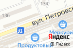 Схема проезда до компании Инесса в Донецке