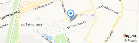 Баку на карте Донецка