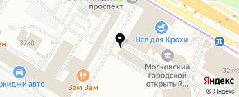 Autobody на карте Москвы
