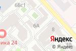 Схема проезда до компании Империя пива в Москве