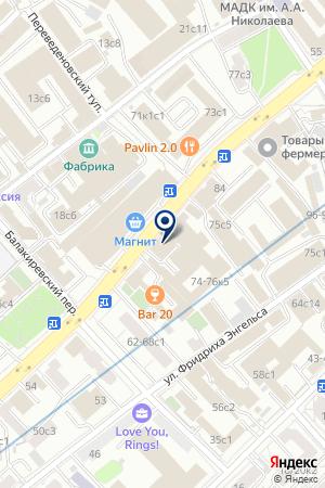 ТФ РАДИУС В на карте Москвы