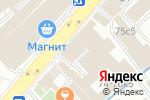 Схема проезда до компании Стройэволюция в Москве