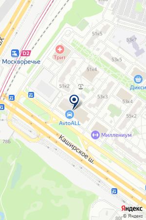 БИЛЬЯРДНЫЙ КЛУБ АМБИКАР на карте Москвы