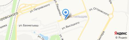 Элина на карте Донецка