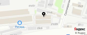 Meleon на карте Москвы