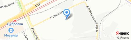 Окна Столицы на карте Москвы