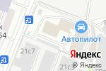 Схема проезда до компании ВерАвто в Москве