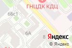 Схема проезда до компании Галла-ВИК в Москве