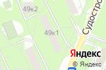 Схема проезда до компании ЮНИКЛУК в Москве