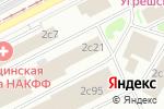 Схема проезда до компании Mobius в Москве