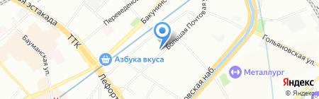 Строй Перонал Консалтинг на карте Москвы