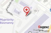 Схема проезда до компании Лучший Стиль в Москве