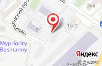 Схема проезда до компании Казанский Инженерный Центр в Москве