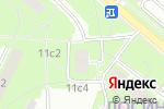Схема проезда до компании ВК Династия в Москве