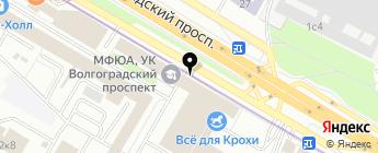 СПЕЦЦЕНТР 4Х4 на карте Москвы