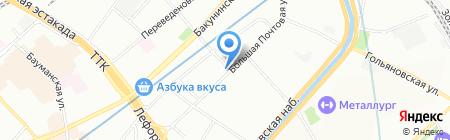 Идея Плюс на карте Москвы