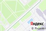 Схема проезда до компании Сад мебели в Москве