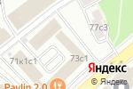 Схема проезда до компании Комод в Москве