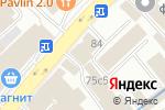 Схема проезда до компании Все для салона в Москве