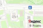 Схема проезда до компании Велес-Моторс в Москве
