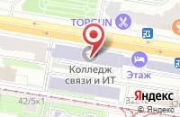 Схема проезда до компании Мба-Строй в Москве