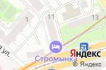 Схема проезда до компании Eden Wed в Москве