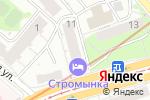 Схема проезда до компании Продвижение в Москве