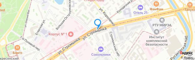 улица Стромынка