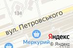 Схема проезда до компании Территория красоты в Донецке