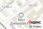 Схема проезда до компании Судебное экспертное товарищество в Москве