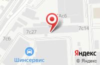 Схема проезда до компании Тинко в Москве