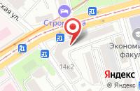 Схема проезда до компании Команда 70 в Москве
