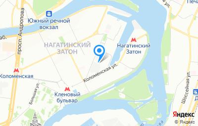 Местоположение на карте пункта техосмотра по адресу г Москва, ул Речников, д 19 стр 4