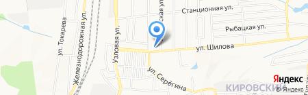 Донецкая общеобразовательная школа I-III ступеней №86 на карте Донецка