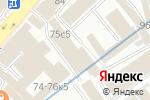 Схема проезда до компании Рулонные газоны в Москве
