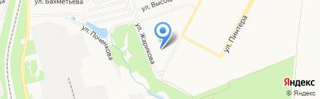 Татьяна на карте Донецка