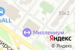 Схема проезда до компании Inkanto в Москве