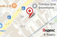 Схема проезда до компании Кометснаб в Москве