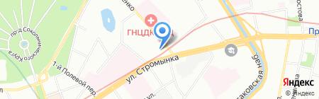 Вереск на карте Москвы