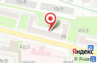 Схема проезда до компании Жилкапстрой в Москве